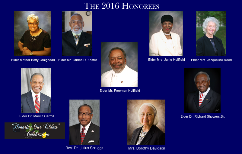 The 2016 Honorees