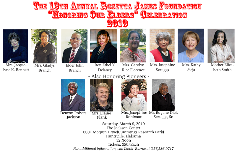 The 2019 Honorees